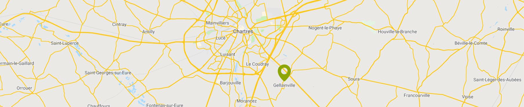 Carte Bonville Geillainville